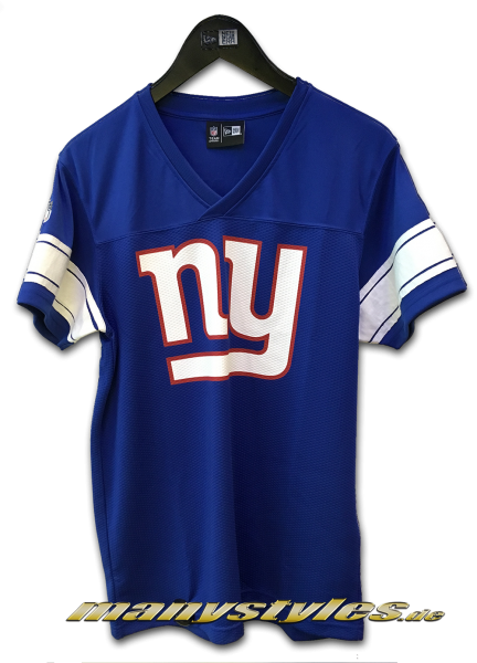 NY Giants NFL Team Jersey Royal OTC Team Color von New Era