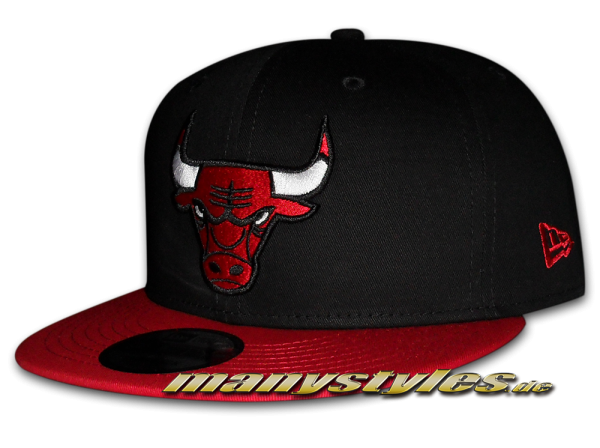 Chicago Bulls NBA 59FIFTY Fitted Cap Black Base OTC von New Era