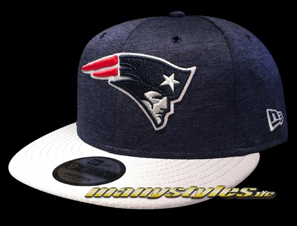 New England Patriots 9FIFTY Home NFL Sideline 2018 Snapback Cap von New Era