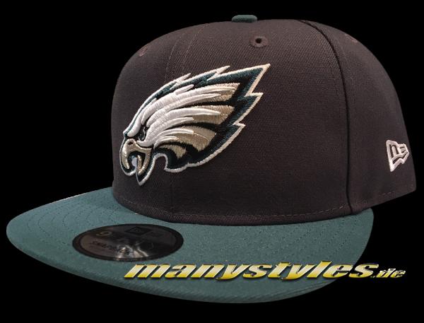 Philadelphia Eagles 9FIFTY NFL Emea 950 Snapback Cap Graphite OTC von New Era