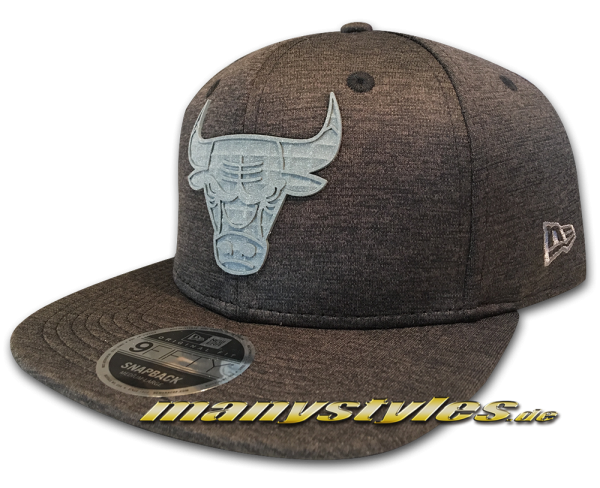 Chicago Bulls NBA 9FIFTY Original Fit Snapback Cap Concrete Jersey von New Era