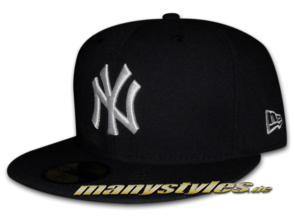 NY Yankees MLB 59FIFTY GITD (Glow in the Dark) Navy White Cap von New Era