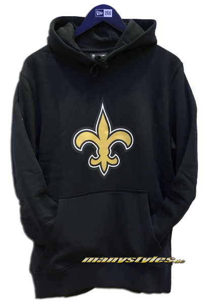 New Orleans Saints NFL PO Hood Hooded Sweater Official Team Color von New Era