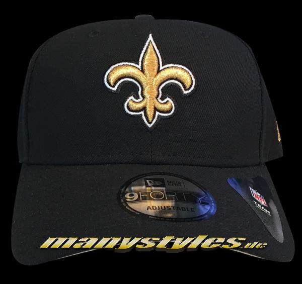 New Orleans Saints 9FORTY NFL The League Curved Visor Adjustable Cap Original Team Color OTC von New Era