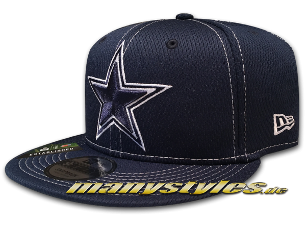 Dallas Cowboys 9FIFTY NFL19 SL RD 950 Snapback Cap OTC Navy White von New Era