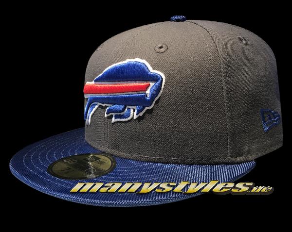 NEW ERA Buffalo Bills NFL Ballistic Visor Cap official Royal Team Color OTC