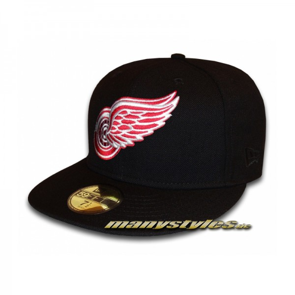 Detroit Red Wings 59FIFTY NHL Basic Cap Official Logo exclusive