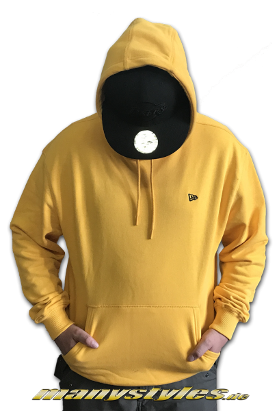 New Era Essential Po Hooded Yellow von New Era