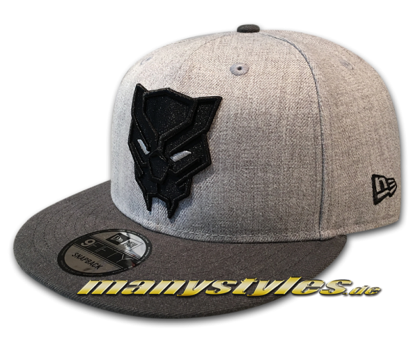 Marvel Comics Black Panther Endgame 9FIFTY Snapback Cap Heather Graphite