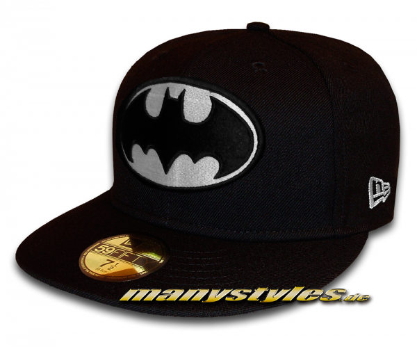 Batman DC Comic GITD (Glow in the Dark) 59FIFTY fitted Black White Cap von new era