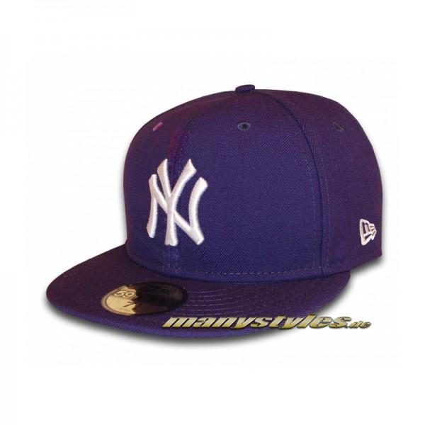 NY-YANKEES-New-Era-MLB-Basic-Cap-Purple-White-59FIFTY_new-era