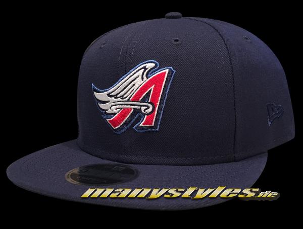 Anaheim Angels now California ANGELS New Era 9FIFTY Snapback Cap Navy Red White OTC Original Team Color von New Era
