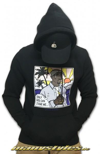Cayler & Sons Pacenstein 2Pac Hooded Sweater Kaputzenpullover Black Multi Colored